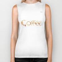 coffe Biker Tanks featuring Coffe colors fashion Jacob's Paris by Jacob's 1968