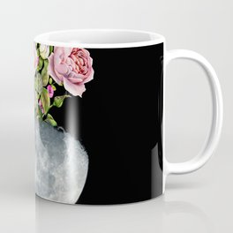 Moon Flower Pot #flower #moon Coffee Mug