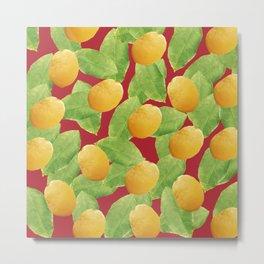 Just Lemons Metal Print