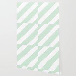 Soft blue diagonal lines Big Wallpaper