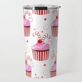 Christmas Cupcakes Travel Mug