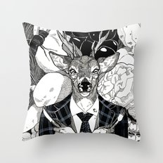 The Cryptids - Wendigo Throw Pillow