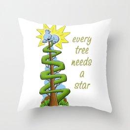 Every Tree Needs a (Koala) Star Throw Pillow