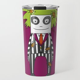 Beetle Juice Tribute Travel Mug