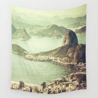 rio Wall Tapestries featuring Rio by afzucatti