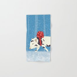 Cute Little Pig Holiday Design Hand & Bath Towel