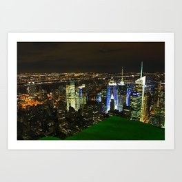 New York Skyline Art Print