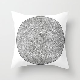 The Inner Hive Throw Pillow