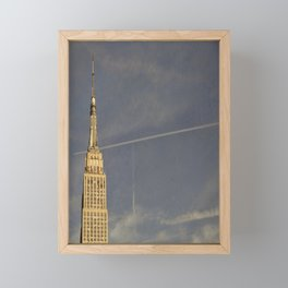 Empire State Building Framed Mini Art Print