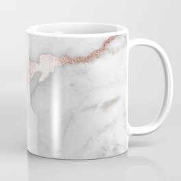 Rose Gold Marble Coffee Mug