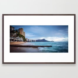 Diamond head 2 Framed Art Print