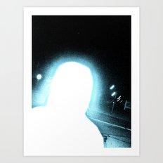 WHITEOUT : Supernatural Art Print
