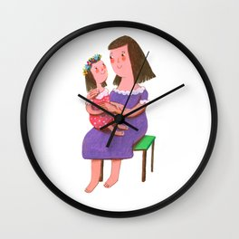 I Love My Mommy Wall Clock