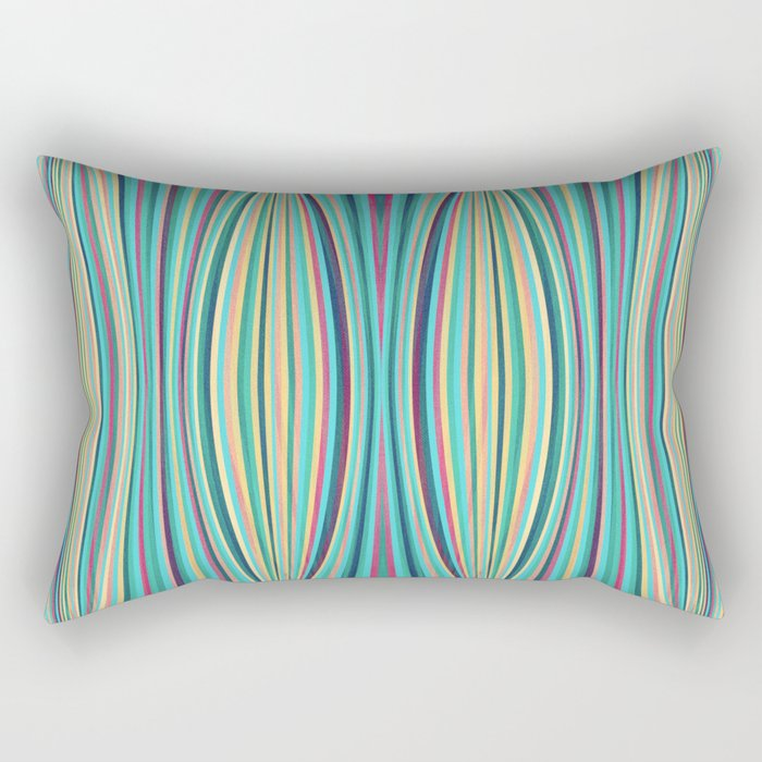 Asleep Rectangular Pillow