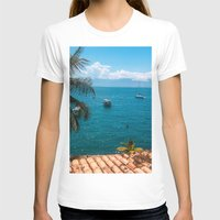 boats T-shirts featuring Boats by Mauricio Santana