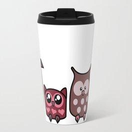 All is Owly (cherry) Travel Mug