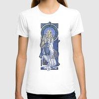 nouveau T-shirts featuring Galadriel Nouveau by Karen Hallion Illustrations