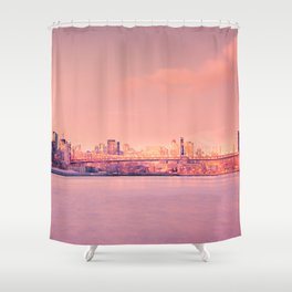 Sunsets Like These - New York City Shower Curtain
