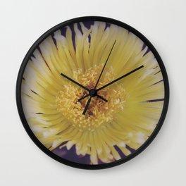 Buttery Botany Wall Clock