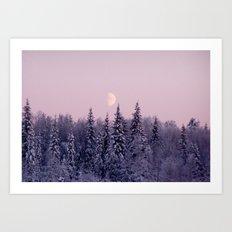 Noon at North Pole Art Print
