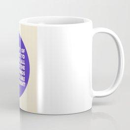 The Problem With Venn Diagrams Coffee Mug