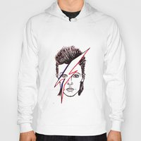 aladdin Hoodies featuring Bowie Aladdin by Diego L.D.