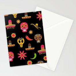 Dia de los muertos - Day of the Dead Stationery Cards