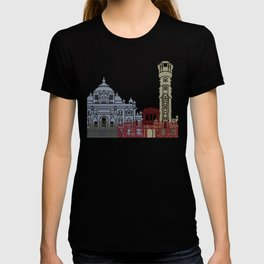 Ahmedabad skyline poster T-shirt