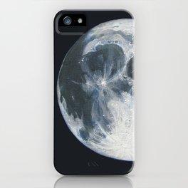 Moon Portrait 1 iPhone Case