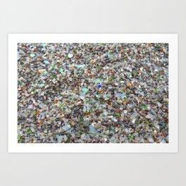 glass beach #2 Art Print