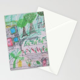Place of Love - Handmade from Pascal  (A7 B0237) Stationery Cards