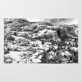 Desert_rocks Rug
