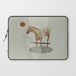 Take The Money and Run Laptop Sleeve