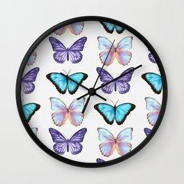 Dreamy Butterflies Wall Clock