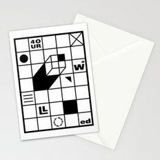Four Walled World Stationery Cards