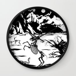 Last Unicorn, Fantasías Macabras Wall Clock