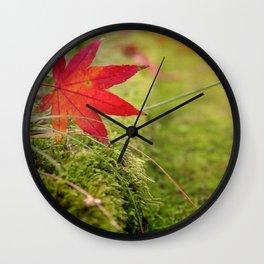 Autumn I Wall Clock