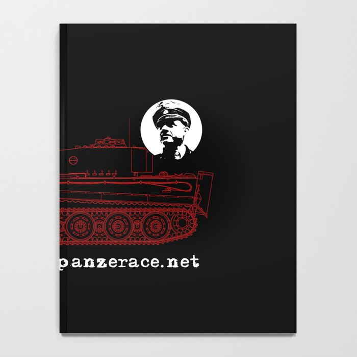 Michael Wittmann Panzer Ace 222 Villers Bocage Black Notebook