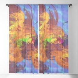 Dragonhead ... Sheer Curtain
