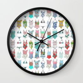 swimsuits Wall Clock