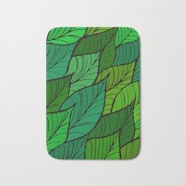 Lush / Leaf Pattern Bath Mat