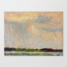Tom Thomson Misty Sky c. 1913-1914 Canadian Landscape Artist Canvas Print