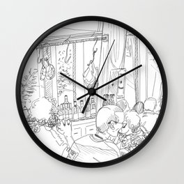 La Repubblica Wall Clock