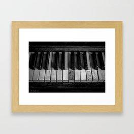 NOT DIGITAL Framed Art Print