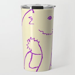 Purple Bear Travel Mug