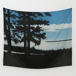 SHADOW BY THE LAKE Wall Tapestry