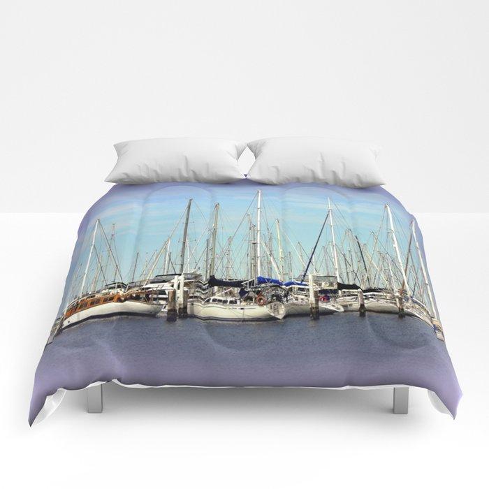 Armada of Yatchs Comforters