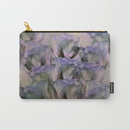 Glamorous Lavender Roses Abstract Carry-All Pouch