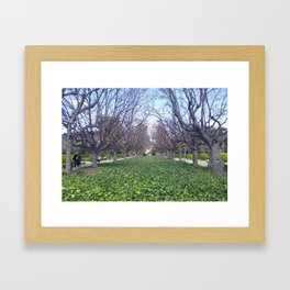 idontrememberwhere Framed Art Print