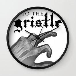 Official tothe Gristle-E blk Wall Clock